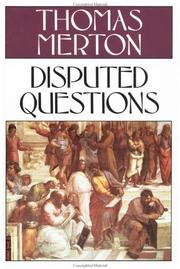 Cover of: Disputed questions