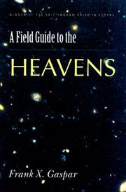 Cover of: A field guide to the heavens