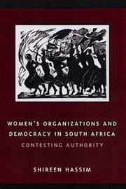 Cover of: Women's Organizations and Democracy in South Africa