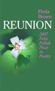 Cover of: Reunion (Felix Pollak Prize in Poetry)