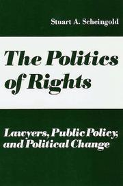Cover of: The Politics of Rights | Stuart Scheingold