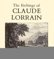 Cover of: The etchings of Claude Lorrain