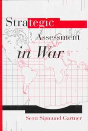 Cover of: Strategic assessment in war