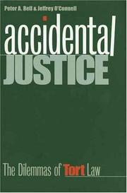 Cover of: Accidental justice