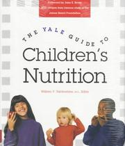 Cover of: The Yale guide to children's nutrition |