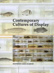 Cover of: Contemporary cultures of display |