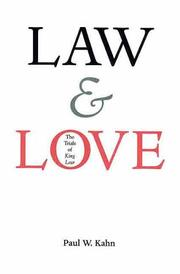 Cover of: Law and love