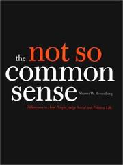 Cover of: The Not So Common Sense