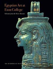 Cover of: Egyptian Art at Eton College Selections from the Myers Museum | Stephen Spurr