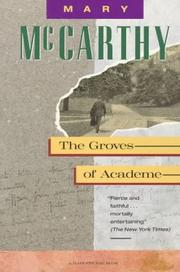 Cover of: The groves of academe