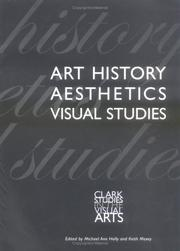 Cover of: Art History, Aesthetics, Visual Studies (Clark Studies in the Visual Arts) |