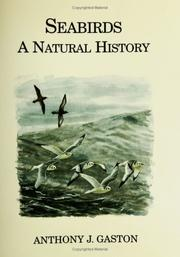 Cover of: Seabirds | Anthony J. Gaston