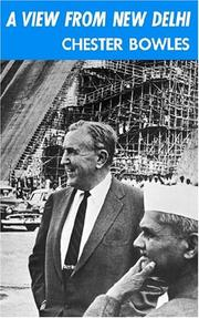 Cover of: A View From New Delhi | Chester Bowles