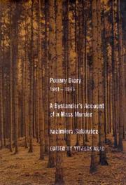 Ponary diary, 1941-1943