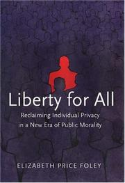 Cover of: Liberty for All | Elizabeth Price Foley