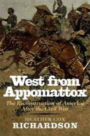 Cover of: West from Appomattox