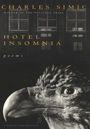 Cover of: Hotel insomnia