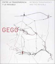 Cover of: Gego | Mari Carmen Ramirez