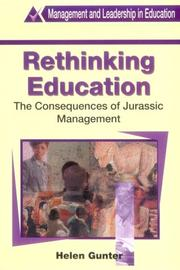 Cover of: Rethinking education