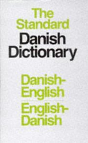 Cover of: Danish Standard Dictionary
