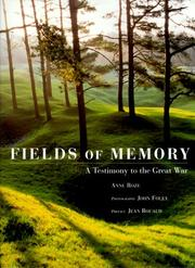 Cover of: Fields of Memory