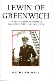 Cover of: Lewin of Greenwich | J. R. Hill