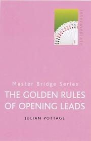 Cover of: Golden Rules of Opening Leads