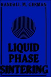 Cover of: Liquid phase sintering