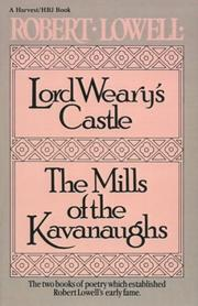 Cover of: Lord Weary's Castle: The Mills of the Kavanaughs (Harvest/Hbj Book)