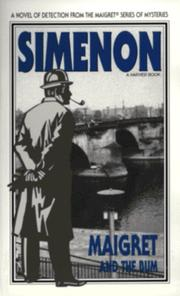 Cover of: Maigret and the Bum | Georges Simenon
