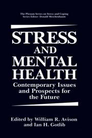 Cover of: Stress and mental health