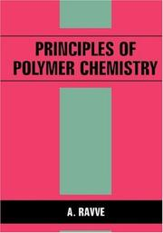 Cover of: Principles of polymer chemistry