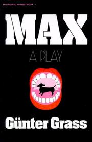 Cover of: Max: A Play