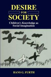 Cover of: Desire for society
