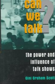 Cover of: Can we talk? | Gini Graham Scott