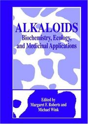 Cover of: Alkaloids |