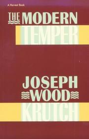 Cover of: Modern Temper