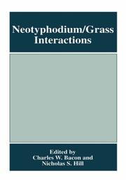 Cover of: Neotyphodium/grass interactions |
