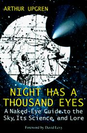 Cover of: Night has a thousand eyes | Arthur R. Upgren