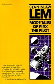 Cover of: More Tales of Pirx the Pilot