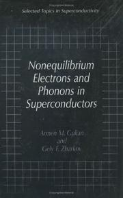 Cover of: Nonequilibrium electrons and phonons in superconductors