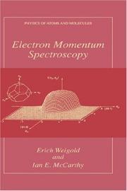 Cover of: Electron momentum spectroscopy