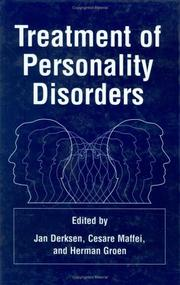 Cover of: Treatment of Personality Disorders |