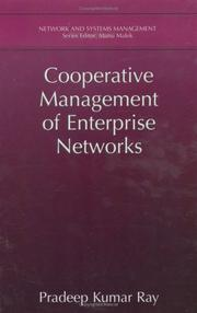 Cover of: Cooperative Management of Enterprise Networks (Network and Systems Management) | Pradeep Kumar Ray