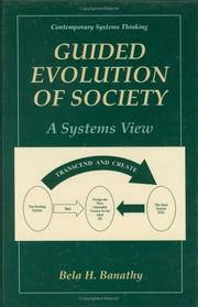 Cover of: Guided Evolution of Society