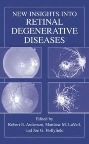 Cover of: New Insights into Retinal Degenerative Diseases |