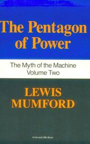 Cover of: The pentagon of power