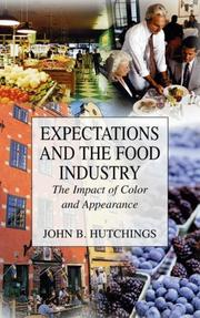 Expectations and the food industry by John B. Hutchings