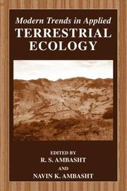 Cover of: Modern Trends in Applied Terrestrial Ecology |