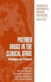 Cover of: Polymer Drugs in the Clinical Stage |